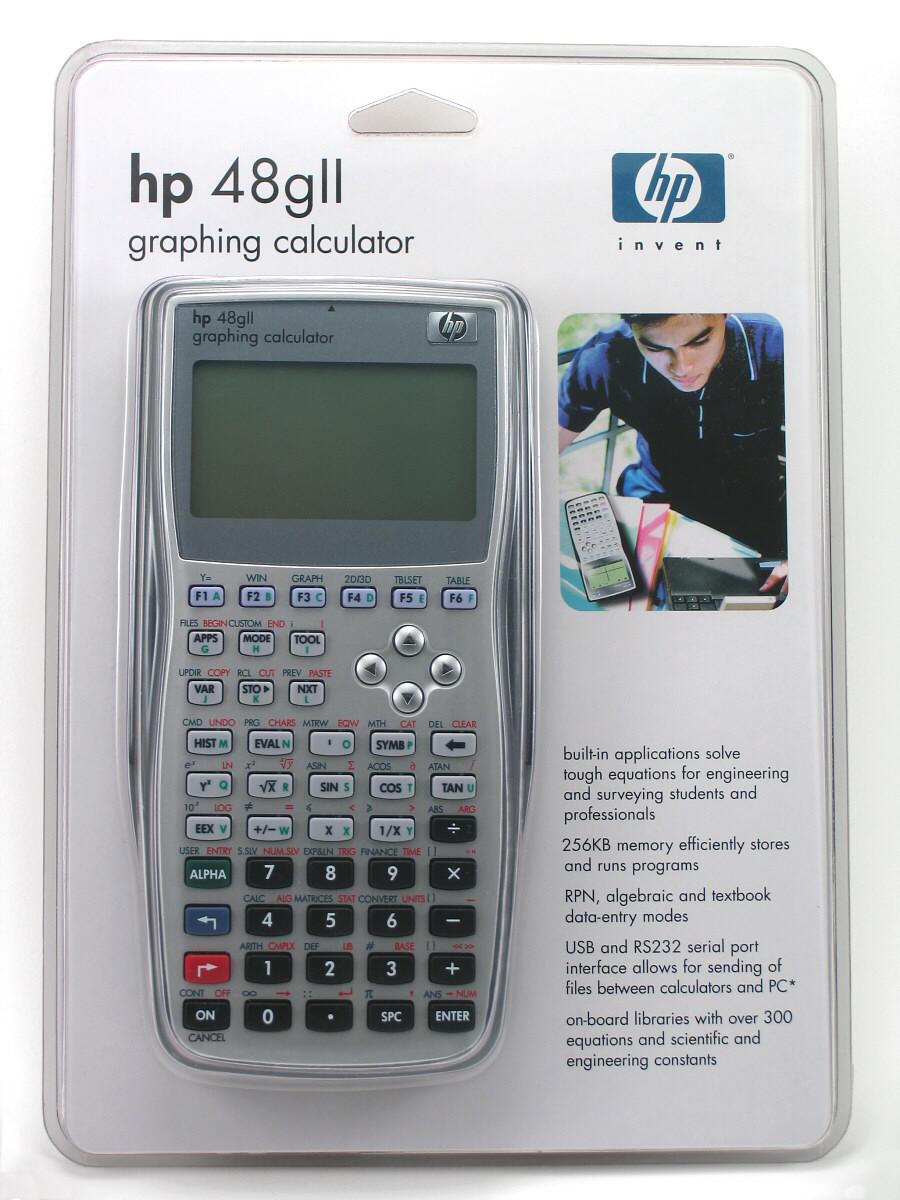 Hp 48gii Graphing Calculator